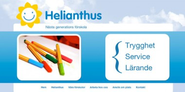 Helianthus - Webdesign
