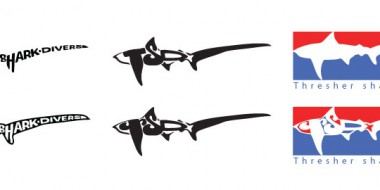 Thresher-shark-divers---Logotyp
